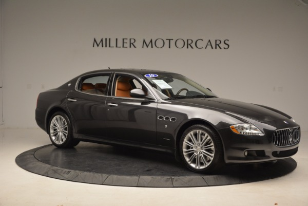 Used 2010 Maserati Quattroporte S for sale Sold at Bentley Greenwich in Greenwich CT 06830 10