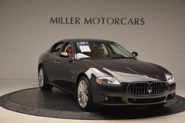 Used 2010 Maserati Quattroporte S for sale Sold at Bentley Greenwich in Greenwich CT 06830 11