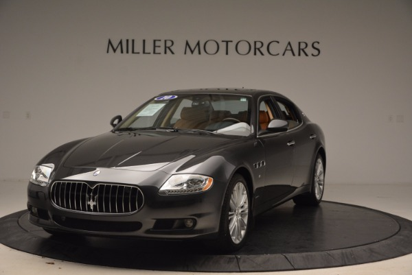 Used 2010 Maserati Quattroporte S for sale Sold at Bentley Greenwich in Greenwich CT 06830 13