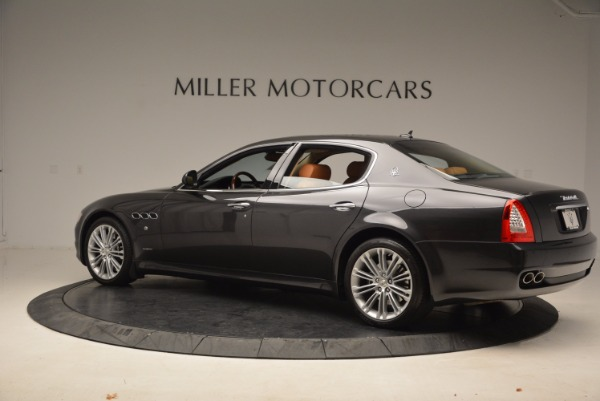 Used 2010 Maserati Quattroporte S for sale Sold at Bentley Greenwich in Greenwich CT 06830 4
