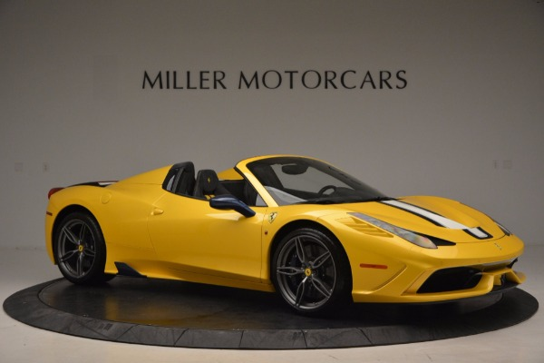 Used 2015 Ferrari 458 Speciale Aperta for sale Sold at Bentley Greenwich in Greenwich CT 06830 10