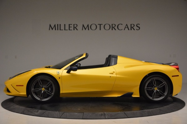 Used 2015 Ferrari 458 Speciale Aperta for sale Sold at Bentley Greenwich in Greenwich CT 06830 3