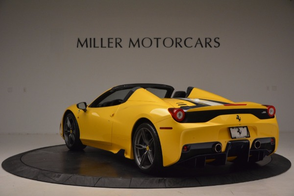 Used 2015 Ferrari 458 Speciale Aperta for sale Sold at Bentley Greenwich in Greenwich CT 06830 5