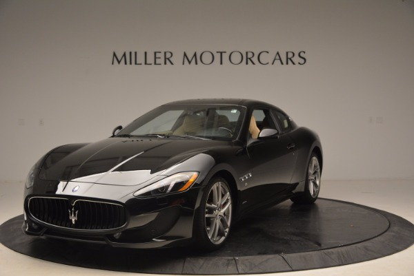 Used 2015 Maserati GranTurismo Sport Coupe for sale Sold at Bentley Greenwich in Greenwich CT 06830 1