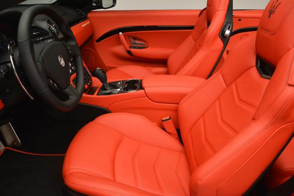 New 2017 Maserati GranTurismo Convertible Sport for sale Sold at Bentley Greenwich in Greenwich CT 06830 18