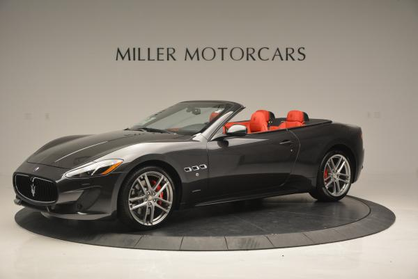 New 2017 Maserati GranTurismo Convertible Sport for sale Sold at Bentley Greenwich in Greenwich CT 06830 3