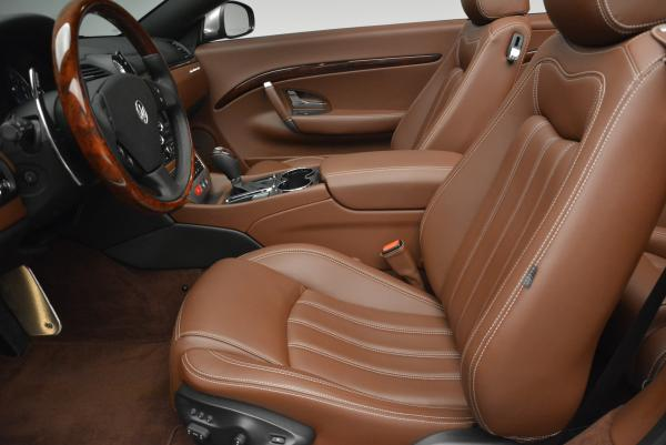 Used 2012 Maserati GranTurismo for sale Sold at Bentley Greenwich in Greenwich CT 06830 22