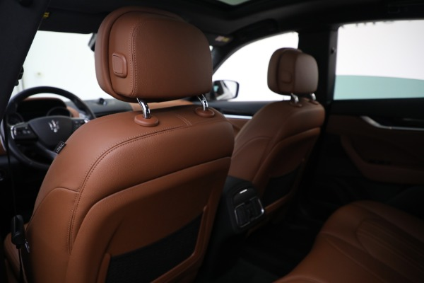 Used 2018 Maserati Levante Q4 for sale $57,900 at Bentley Greenwich in Greenwich CT 06830 19