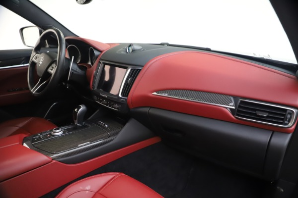 Used 2018 Maserati Levante S GranSport for sale $66,900 at Bentley Greenwich in Greenwich CT 06830 24