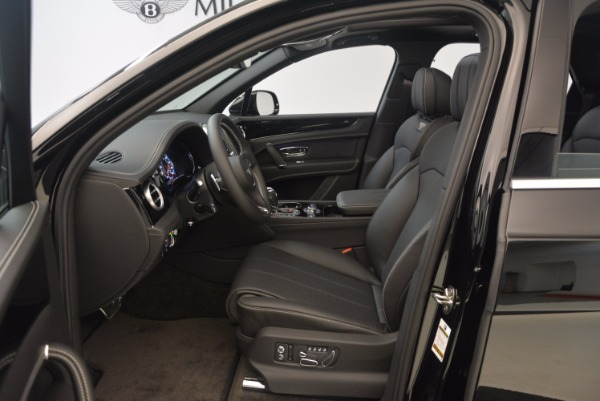 New 2018 Bentley Bentayga Onyx for sale Sold at Bentley Greenwich in Greenwich CT 06830 19