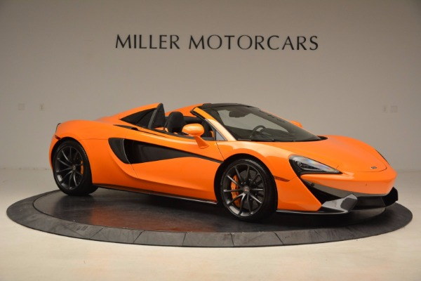 New 2018 McLaren 570S Spider for sale Sold at Bentley Greenwich in Greenwich CT 06830 10