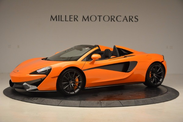 New 2018 McLaren 570S Spider for sale Sold at Bentley Greenwich in Greenwich CT 06830 2