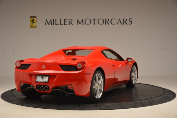 Used 2012 Ferrari 458 Spider for sale Sold at Bentley Greenwich in Greenwich CT 06830 19