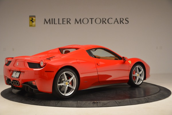Used 2012 Ferrari 458 Spider for sale Sold at Bentley Greenwich in Greenwich CT 06830 20