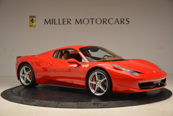 Used 2012 Ferrari 458 Spider for sale Sold at Bentley Greenwich in Greenwich CT 06830 22