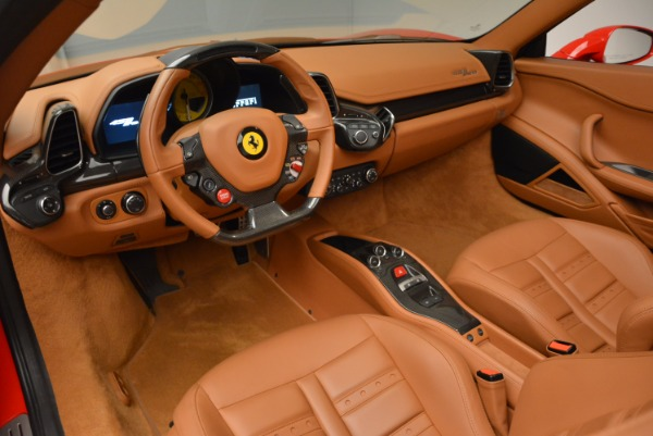 Used 2012 Ferrari 458 Spider for sale Sold at Bentley Greenwich in Greenwich CT 06830 25