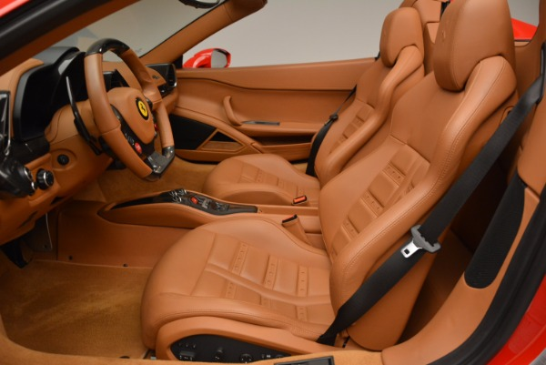 Used 2012 Ferrari 458 Spider for sale Sold at Bentley Greenwich in Greenwich CT 06830 26