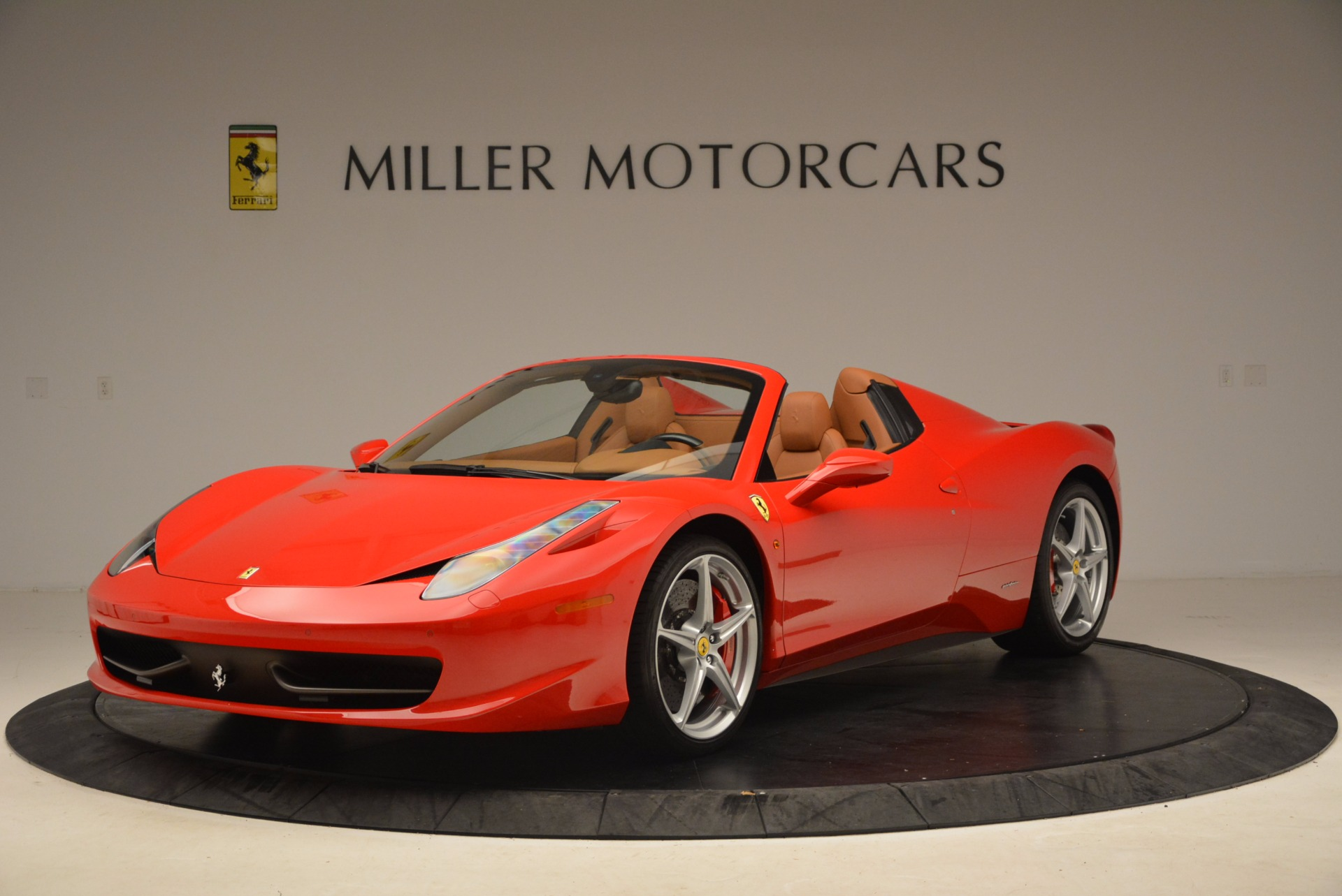 Used 2012 Ferrari 458 Spider for sale Sold at Bentley Greenwich in Greenwich CT 06830 1