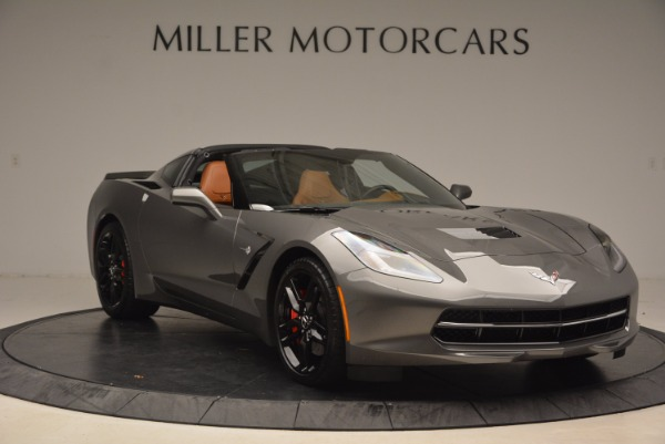 Used 2015 Chevrolet Corvette Stingray Z51 for sale Sold at Bentley Greenwich in Greenwich CT 06830 11