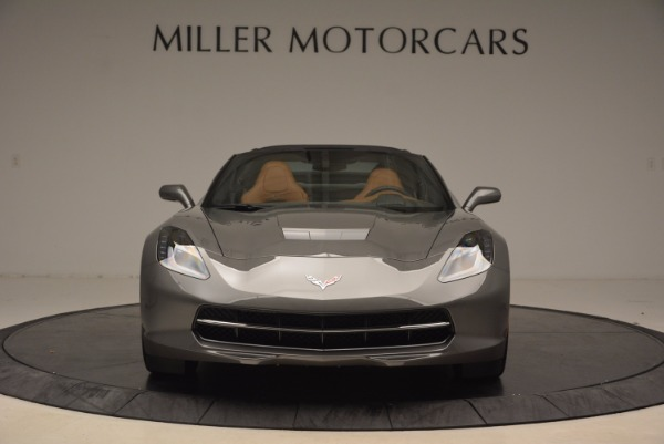 Used 2015 Chevrolet Corvette Stingray Z51 for sale Sold at Bentley Greenwich in Greenwich CT 06830 12