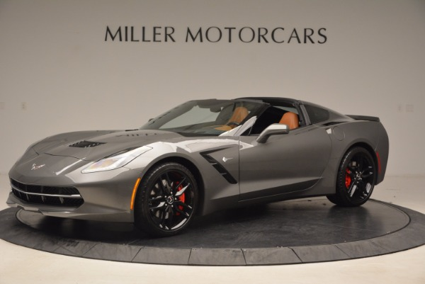 Used 2015 Chevrolet Corvette Stingray Z51 for sale Sold at Bentley Greenwich in Greenwich CT 06830 2