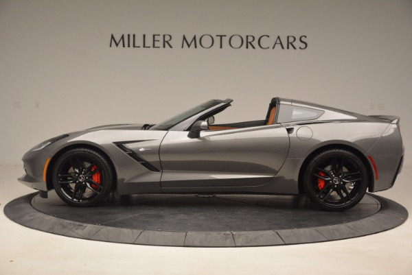 Used 2015 Chevrolet Corvette Stingray Z51 for sale Sold at Bentley Greenwich in Greenwich CT 06830 3