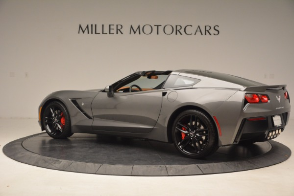 Used 2015 Chevrolet Corvette Stingray Z51 for sale Sold at Bentley Greenwich in Greenwich CT 06830 4
