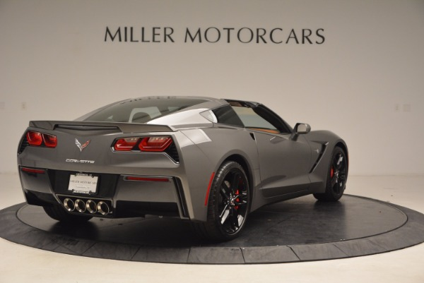 Used 2015 Chevrolet Corvette Stingray Z51 for sale Sold at Bentley Greenwich in Greenwich CT 06830 7