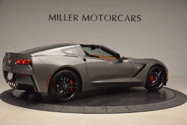 Used 2015 Chevrolet Corvette Stingray Z51 for sale Sold at Bentley Greenwich in Greenwich CT 06830 8