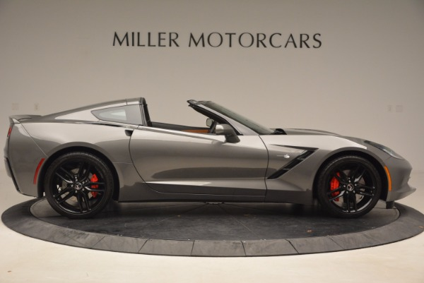 Used 2015 Chevrolet Corvette Stingray Z51 for sale Sold at Bentley Greenwich in Greenwich CT 06830 9