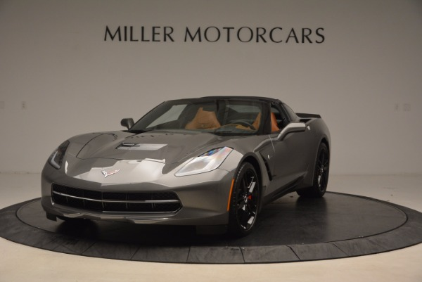 Used 2015 Chevrolet Corvette Stingray Z51 for sale Sold at Bentley Greenwich in Greenwich CT 06830 1