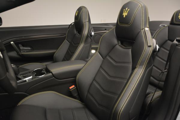 New 2017 Maserati GranTurismo Convertible Sport for sale Sold at Bentley Greenwich in Greenwich CT 06830 23