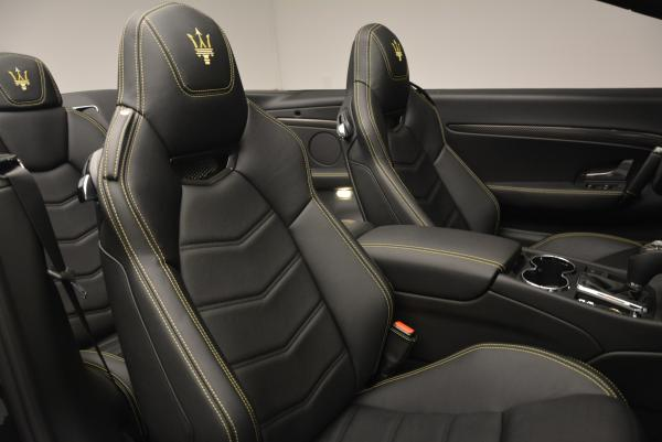 New 2017 Maserati GranTurismo Convertible Sport for sale Sold at Bentley Greenwich in Greenwich CT 06830 27