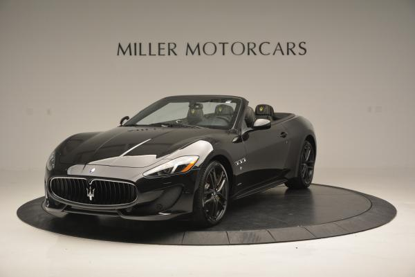 New 2017 Maserati GranTurismo Convertible Sport for sale Sold at Bentley Greenwich in Greenwich CT 06830 1