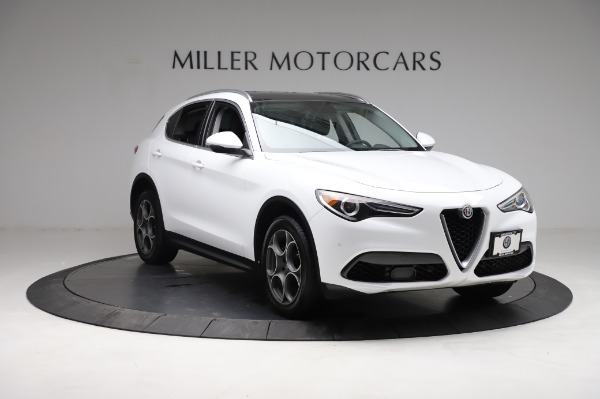 Used 2018 Alfa Romeo Stelvio Q4 for sale Sold at Bentley Greenwich in Greenwich CT 06830 12