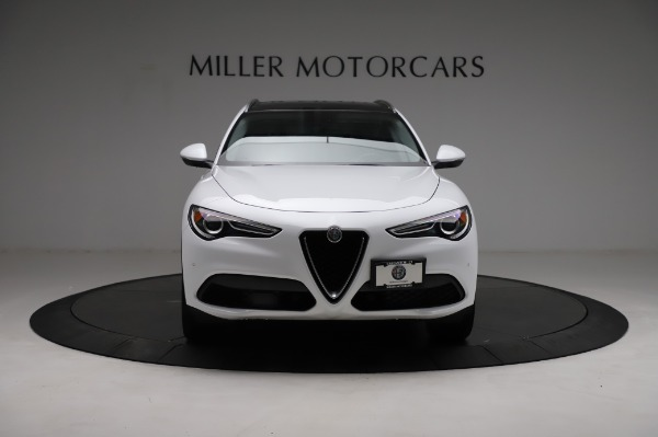 Used 2018 Alfa Romeo Stelvio Q4 for sale Sold at Bentley Greenwich in Greenwich CT 06830 13