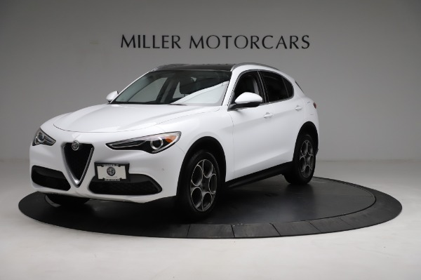 Used 2018 Alfa Romeo Stelvio Q4 for sale Sold at Bentley Greenwich in Greenwich CT 06830 2