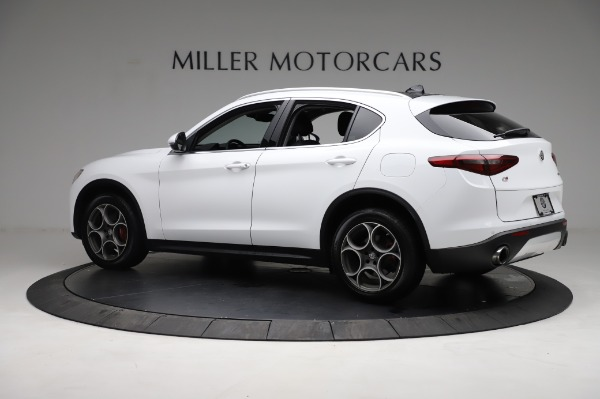 Used 2018 Alfa Romeo Stelvio Q4 for sale Sold at Bentley Greenwich in Greenwich CT 06830 4