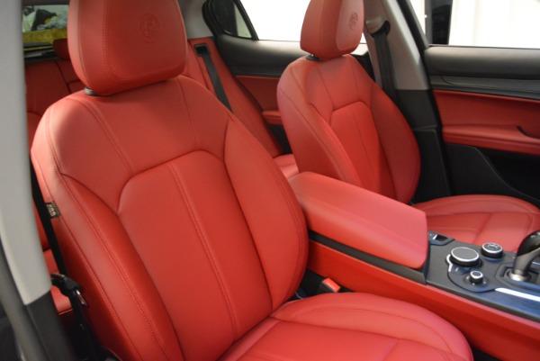 New 2018 Alfa Romeo Stelvio Q4 for sale Sold at Bentley Greenwich in Greenwich CT 06830 18
