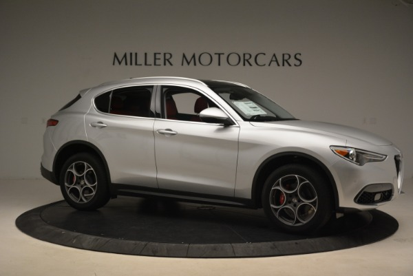 New 2018 Alfa Romeo Stelvio Ti Q4 for sale Sold at Bentley Greenwich in Greenwich CT 06830 10