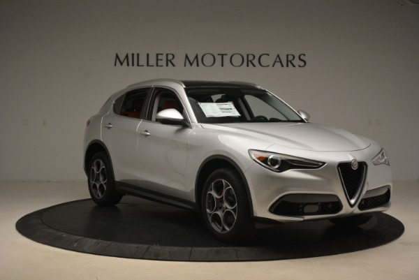 New 2018 Alfa Romeo Stelvio Ti Q4 for sale Sold at Bentley Greenwich in Greenwich CT 06830 11