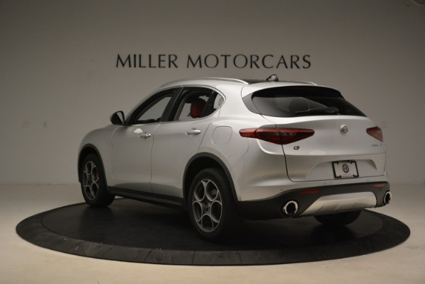 New 2018 Alfa Romeo Stelvio Ti Q4 for sale Sold at Bentley Greenwich in Greenwich CT 06830 5