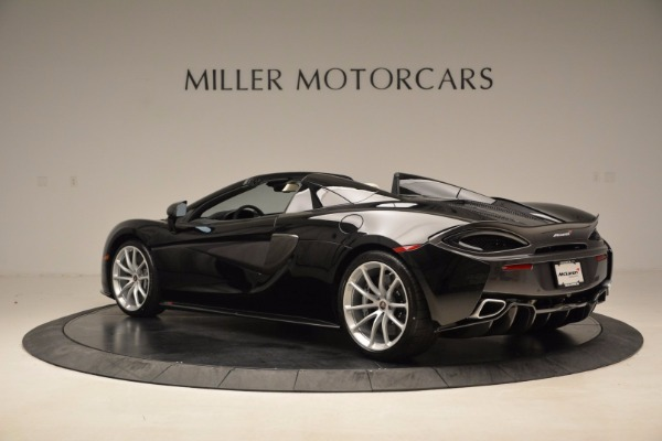 New 2018 McLaren 570S Spider for sale Sold at Bentley Greenwich in Greenwich CT 06830 4