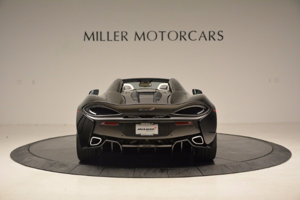 New 2018 McLaren 570S Spider for sale Sold at Bentley Greenwich in Greenwich CT 06830 6