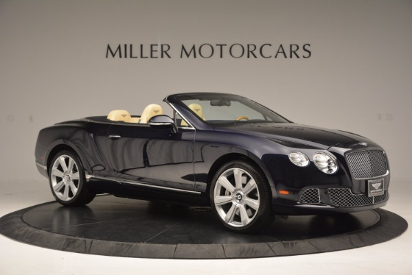 Used 2012 Bentley Continental GTC for sale Sold at Bentley Greenwich in Greenwich CT 06830 10