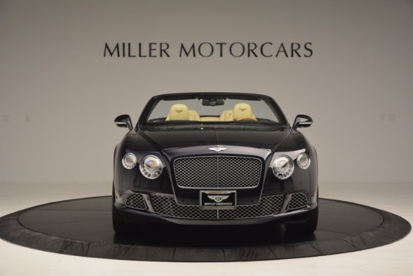 Used 2012 Bentley Continental GTC for sale Sold at Bentley Greenwich in Greenwich CT 06830 12