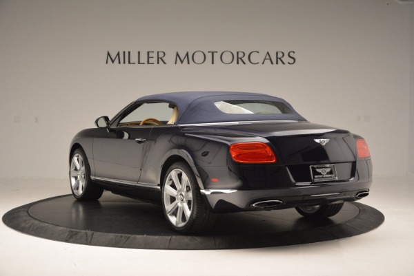 Used 2012 Bentley Continental GTC for sale Sold at Bentley Greenwich in Greenwich CT 06830 18