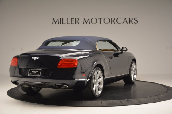 Used 2012 Bentley Continental GTC for sale Sold at Bentley Greenwich in Greenwich CT 06830 20