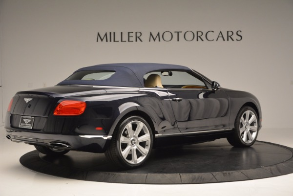 Used 2012 Bentley Continental GTC for sale Sold at Bentley Greenwich in Greenwich CT 06830 21