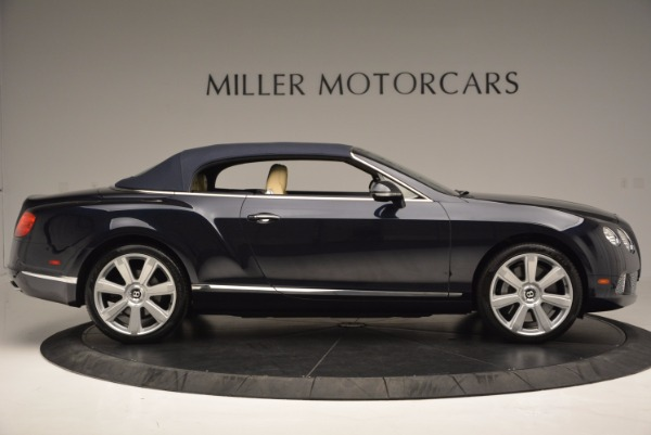Used 2012 Bentley Continental GTC for sale Sold at Bentley Greenwich in Greenwich CT 06830 22